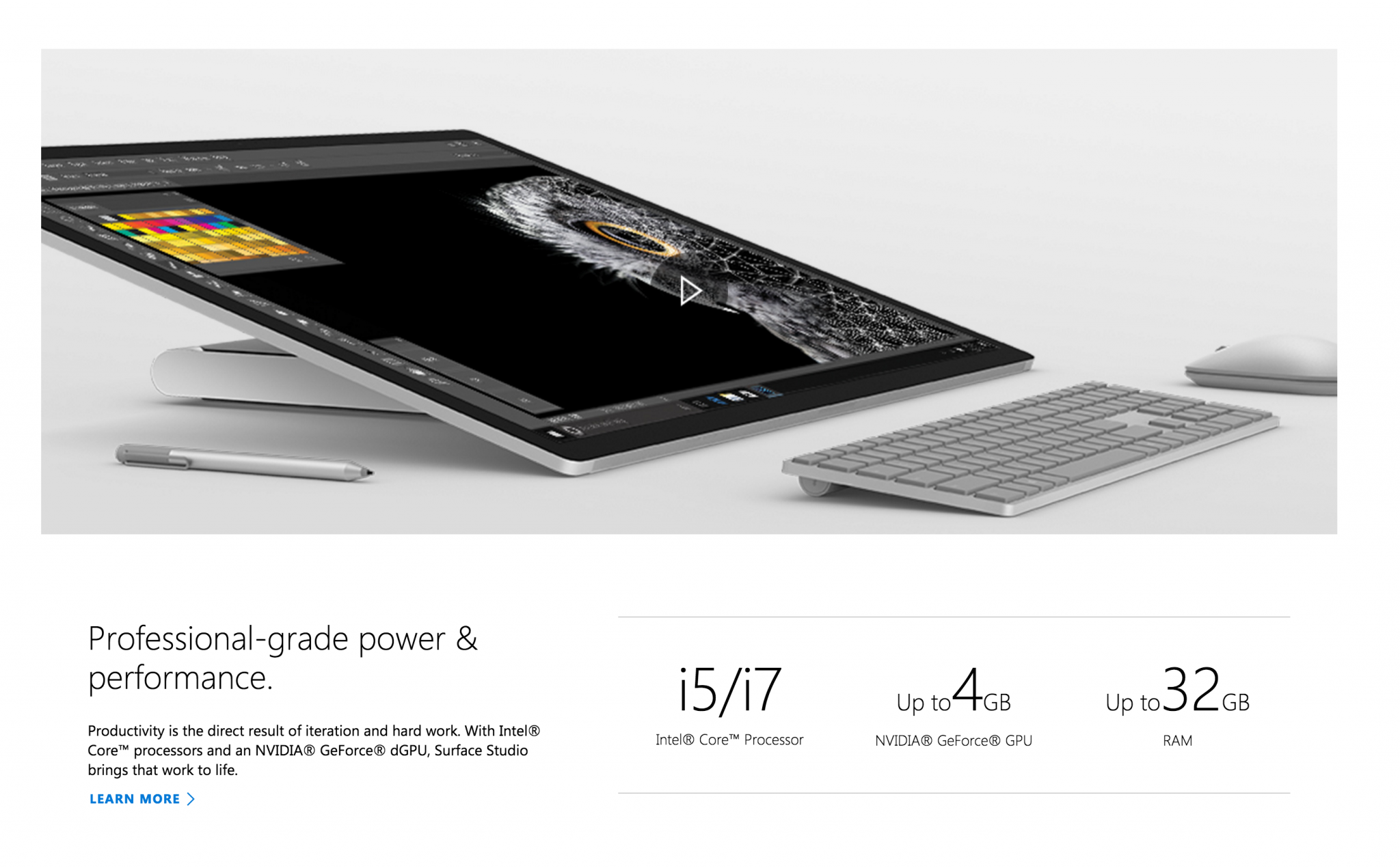 Microsoft Surface Specs