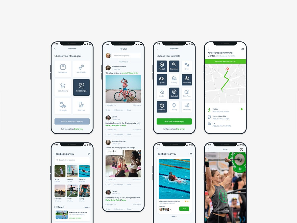 fitocial ui kit complete